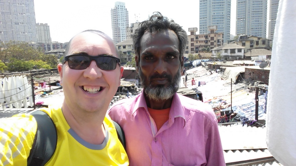 Bilal, Our Dhobi Ghat tour guide