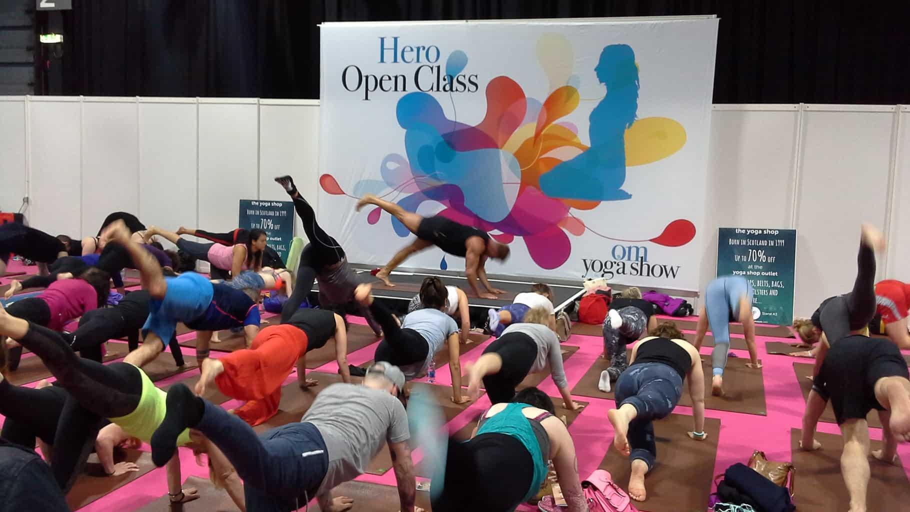 OM Yoga Show Glasgow Matt Miller