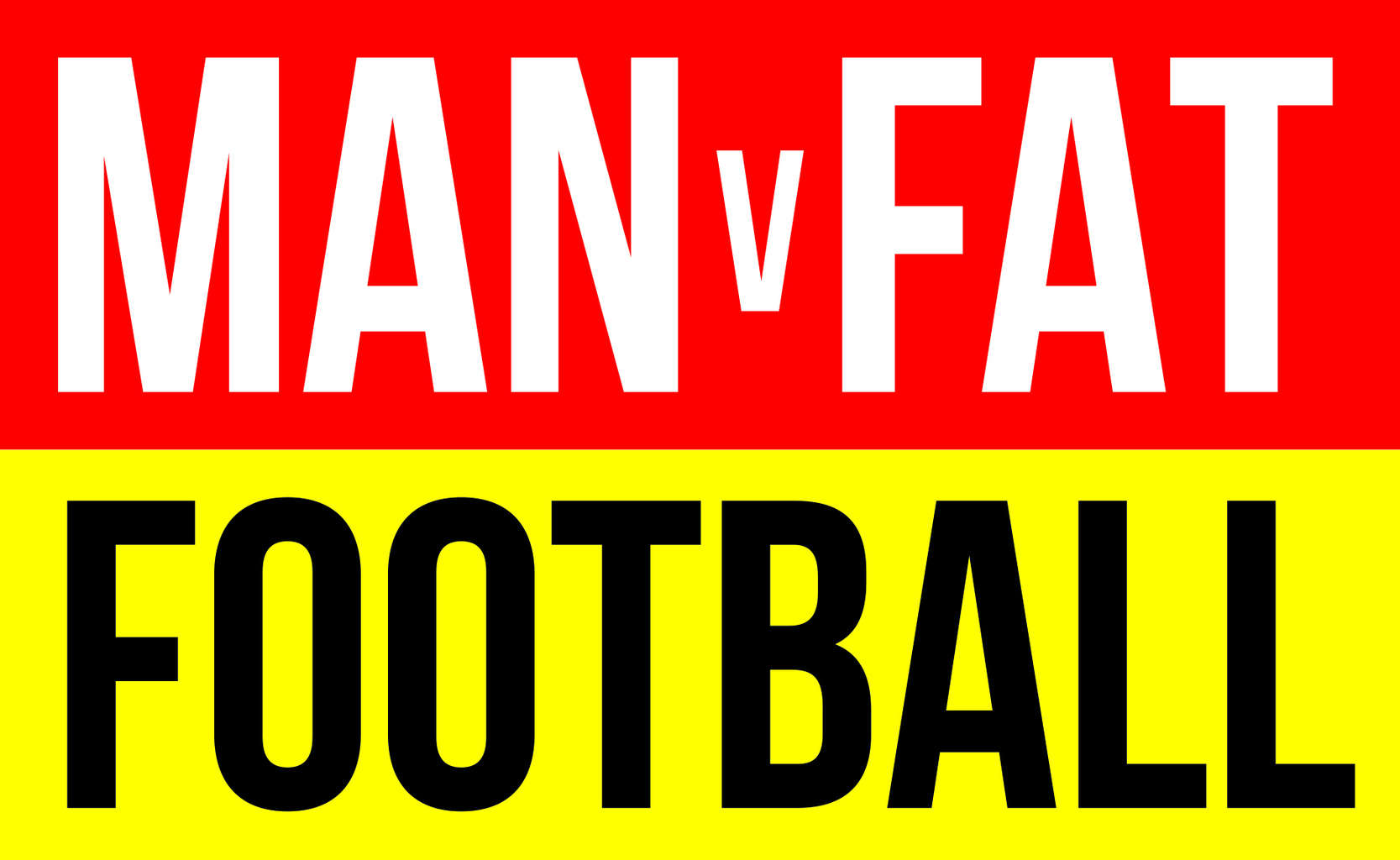 Man V Fat Football