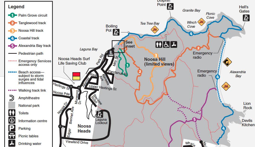 Noosa National Park walks