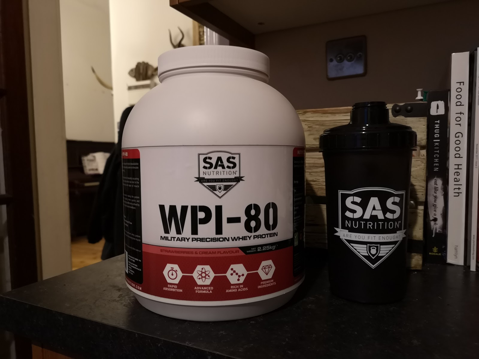 SAS Nutrition Protein Powder Review